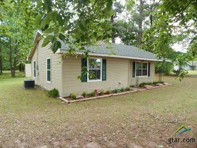 Upshur County Single Family Home For Sale: 5872 Hwy 271