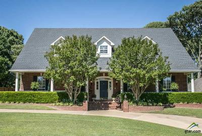 Tyler Single Family Home For Sale: 8407 Crooked Trail