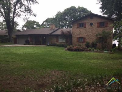 Tyler Single Family Home For Sale: 16331 White Oak Circle
