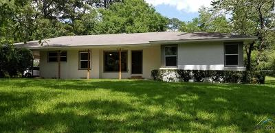 Rusk TX Single Family Home For Sale: $129,900