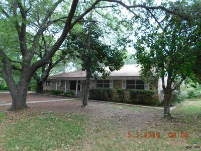 Mineola TX Single Family Home For Sale: $107,900