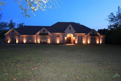 Upshur County Single Family Home For Sale: 4232 N White Oak Rd.