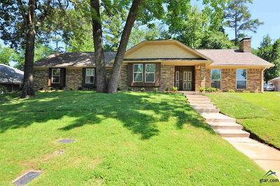 Tyler Single Family Home For Sale: 1714 Wendover Place