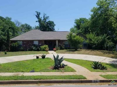 Tyler TX Single Family Home For Sale: $130,000