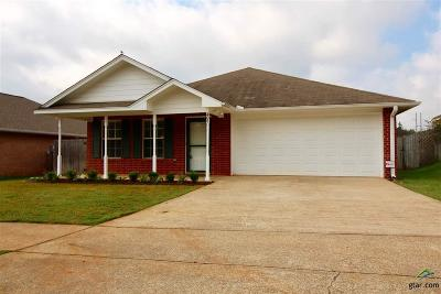 Whitehouse TX Single Family Home For Sale: $139,500