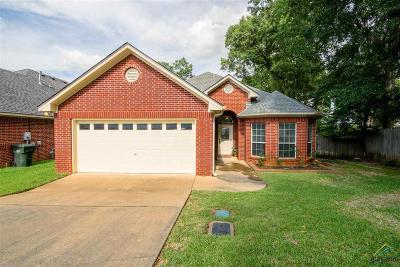 Tyler TX Single Family Home For Sale: $185,000