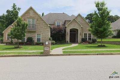 Tyler TX Single Family Home For Sale: $799,900
