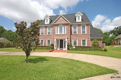 Tyler Single Family Home For Sale: 7670 Morning Star