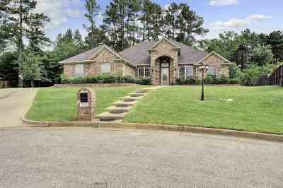 Tyler Single Family Home For Sale: 2120 Old Oak Circle
