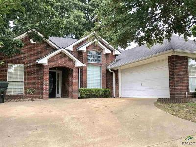 Tyler Single Family Home For Sale: 5711 Persimmon