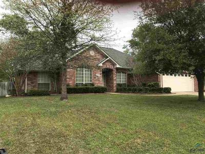 Tyler Single Family Home For Sale: 16541 Vieux Carre