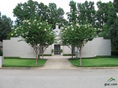 Tyler TX Single Family Home For Sale: $550,000