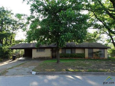 Tyler TX Single Family Home For Sale: $117,500