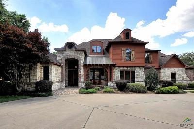 Tyler TX Single Family Home For Sale: $825,000