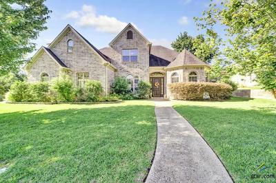 Tyler TX Single Family Home For Sale: $608,500