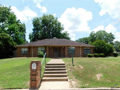 Tyler Single Family Home For Sale: 1631 Willow Bend