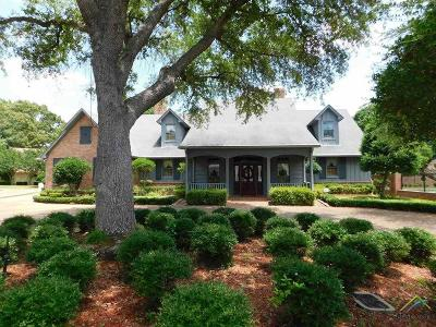 Tyler Single Family Home For Sale: 3608 Peggy's Pl