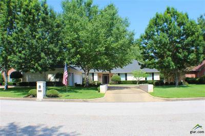 Tyler Single Family Home For Sale: 6500 Gleneagles