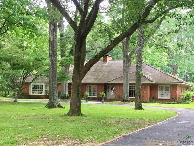 Tyler Single Family Home For Sale: 2724 Old Bullard Road