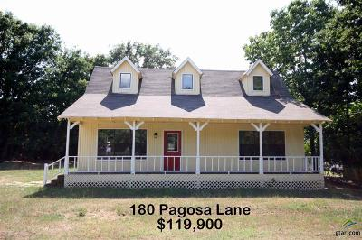 Holly Lake Ranch Single Family Home For Sale: 180 Pagosa Lane