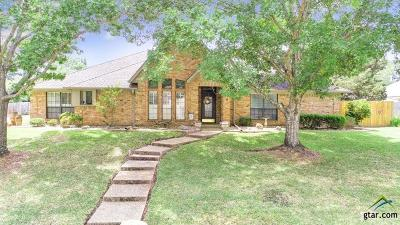 Tyler Single Family Home Contingent - Active: 1723 Old Oak Dr
