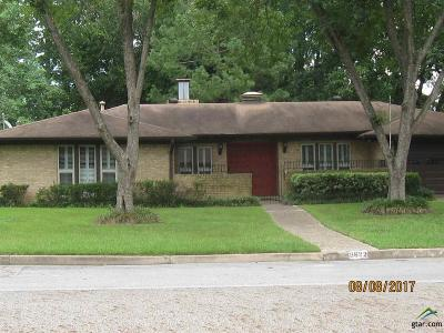 Tyler Single Family Home For Sale: 3622 Cameron