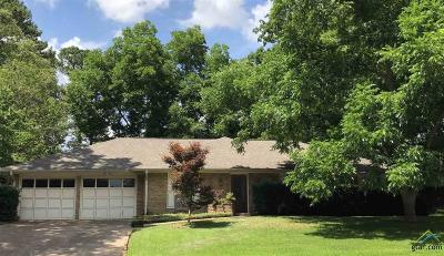 Tyler Single Family Home For Sale: 612 Bentley Court