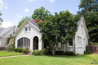 Tyler Single Family Home For Sale: 701 S Palace