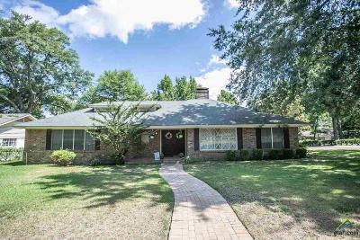 Tyler Single Family Home For Sale: 1624 Yosemite