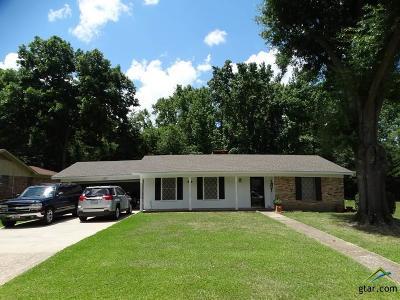 Tyler Single Family Home For Sale: 3700 Brazos