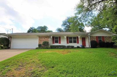 Tyler Single Family Home For Sale: 2530 Shenandoah
