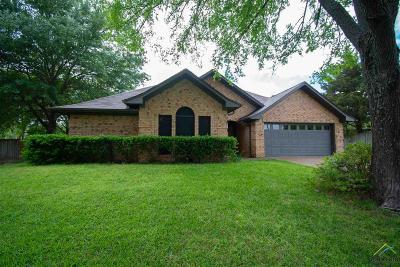 Tyler Single Family Home For Sale: 16606 Overland Stage Dr.