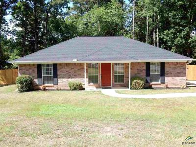 Tyler Single Family Home For Sale: 10336 Pine Trail (County Road 2253)