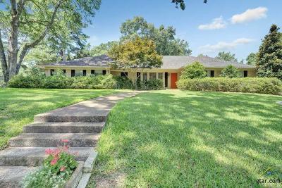 Tyler Single Family Home For Sale: 4601 Gretna Green