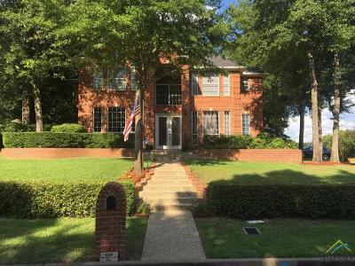 Tyler Single Family Home For Sale: 6224 Spring Creek Dr.