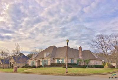Tyler Single Family Home For Sale: 1403 Cold Water Dr