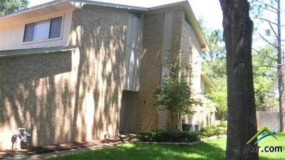 Tyler Condo/Townhouse For Sale: 2504 Villa Court