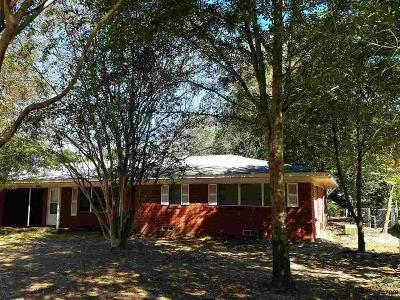 Hawkins TX Single Family Home For Sale: $93,500