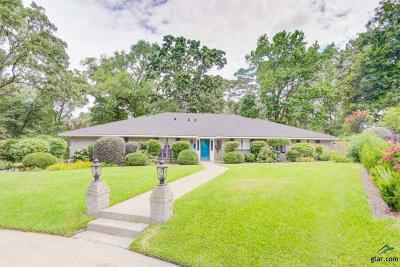 Tyler Single Family Home For Sale: 2829 Yorktown Drive