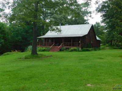 Upshur County Single Family Home For Sale: 7725 Snider Ln