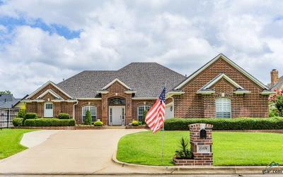 Tyler Single Family Home For Sale: 2309 Firestone Cir