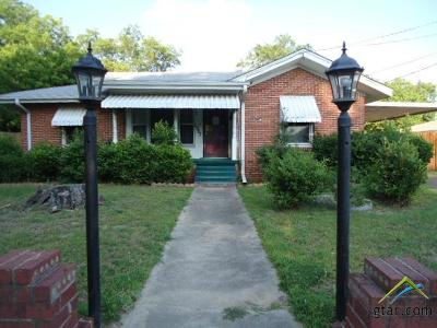 Tyler Single Family Home For Sale: 1207 N Englewood