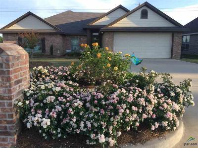 Tyler Single Family Home For Sale: 5752 Leharve Drive