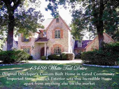 Tyler Single Family Home For Sale: 13486 White Tail Drive