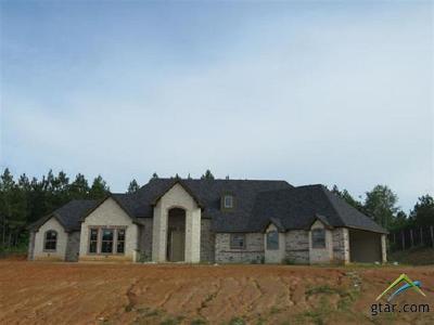 Upshur County Single Family Home For Sale: 210 Bralan