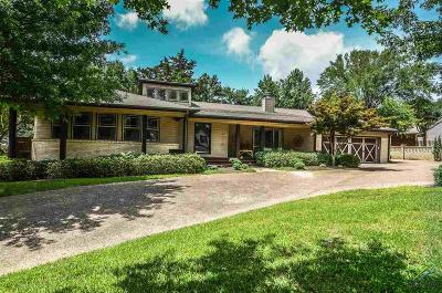 Tyler Single Family Home For Sale: 618 Timberwilde