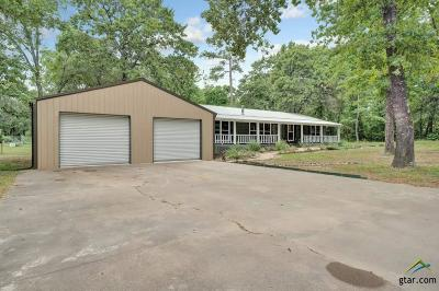 Tyler Single Family Home For Sale: 15220 County Road 285