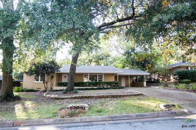 Tyler Single Family Home For Sale: 2901 Dinah Ln.