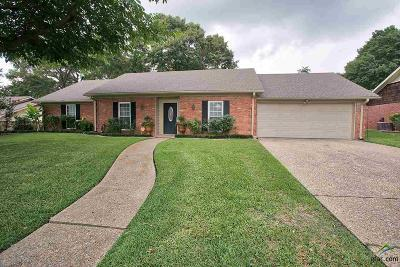 Tyler Single Family Home For Sale: 617 Top Hill
