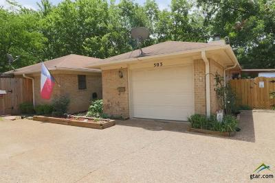 Tyler Condo/Townhouse For Sale: 503 Commons Dr.